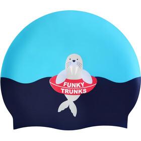 Funky Trunks Silicone Czepek pływacki, niebieski